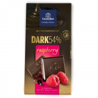 Црна чоколада со малина - 100 g